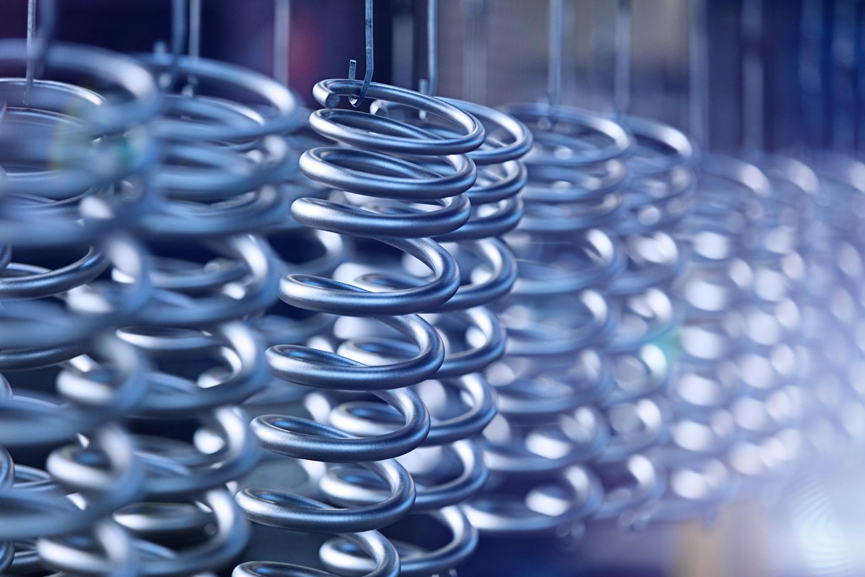 Deutscher Hersteller will in einem neuen Werk in China ab 2018 zusätzlich fünf Millionen Federn und Stabilisatoren für Autos produzieren. © thyssenkrupp /TRD Pressedienst