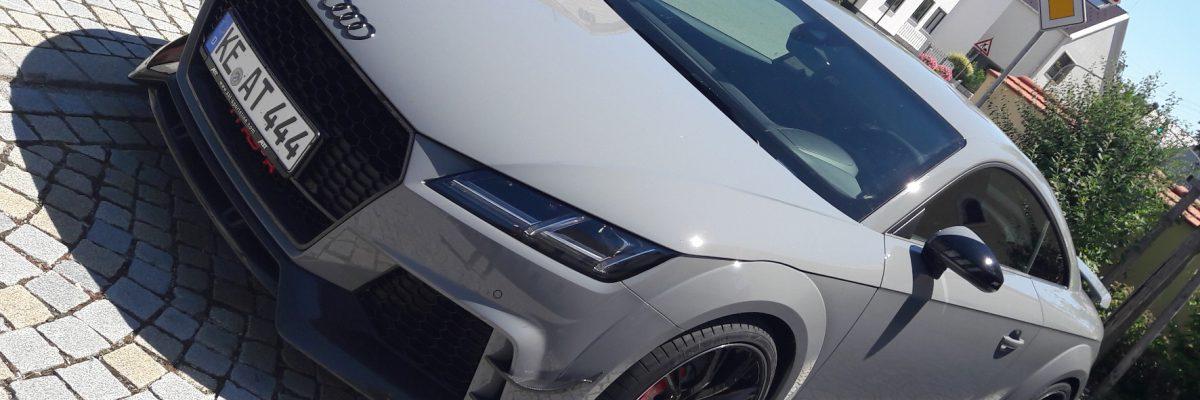 Irgendwie schräg: Als wäre der Audi TT RS nicht schon Dampfhammer genug, sattelt Abt mit dem Ausbau zum RS-R nochmal ordentlich einen drauf. © Bianca Burger / mid / TRD Auto