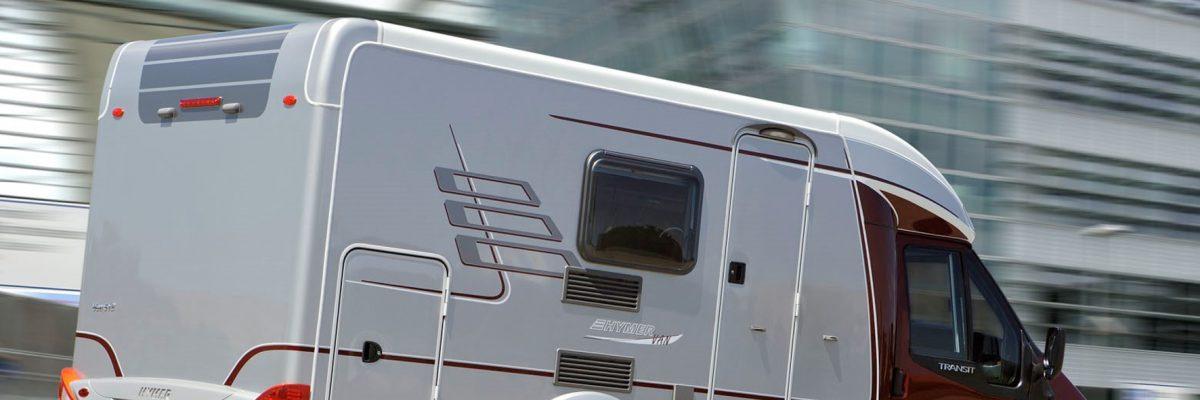 o geht kompaktes Reisemobil heute: der Hymervan auf Basis des Ford Transit. © Hymer / TRD