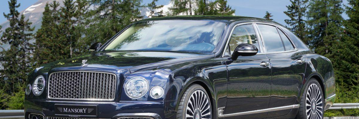 Ein Bentley Mansory