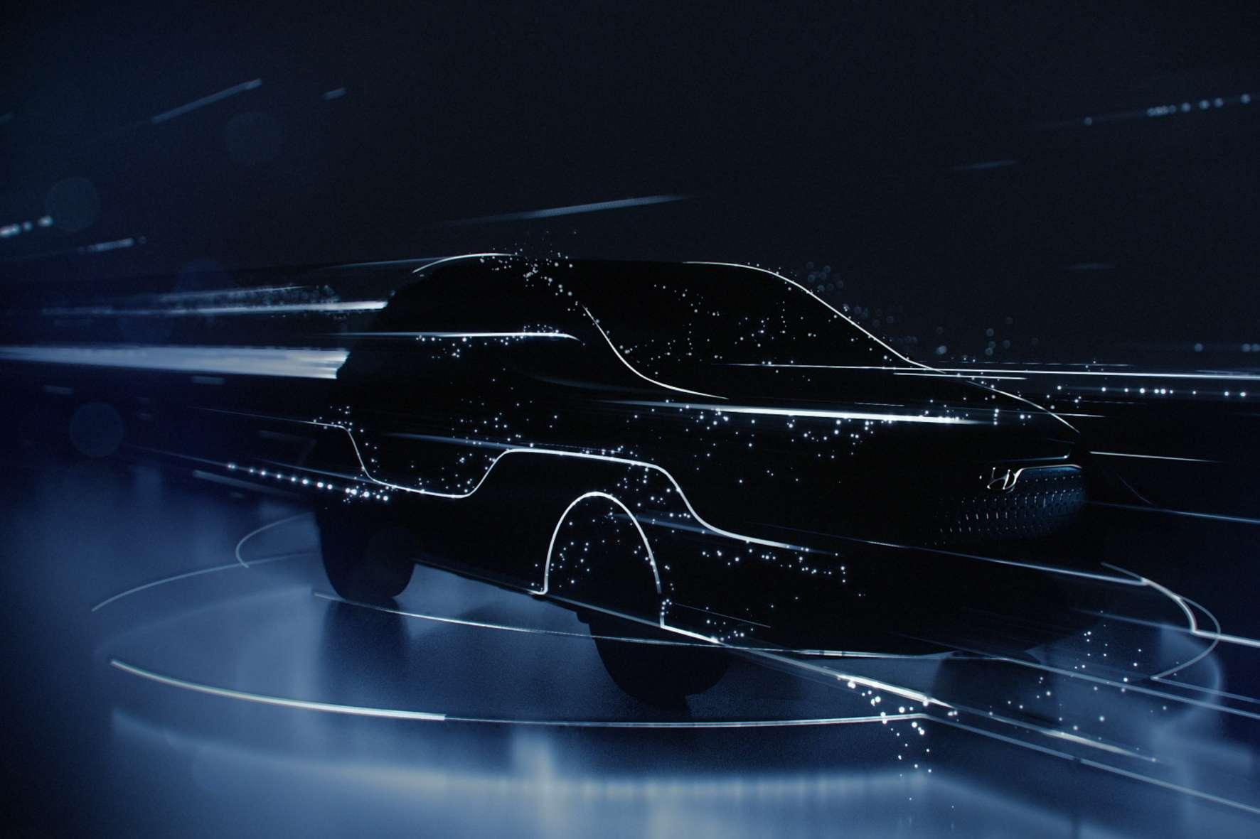 Den Kona Elektrik zeigt Hyundai erst in Genf ohne künstlerische Verfremdungen. © Hyundai /TRDmobil