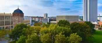 Blick auf Chemnitz