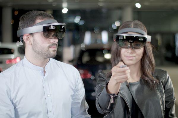 Augmented Reality bietet dem Einzelhandel eine Vielzahl an Möglichkeiten. Doch welches sind diejenigen, die der Kunde sich wünscht? © BMW Group/TRD Technik und Wirtschaft
