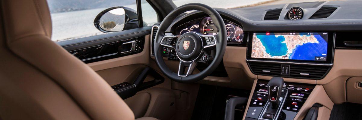 Porsche Cayenne S Innenraumblick