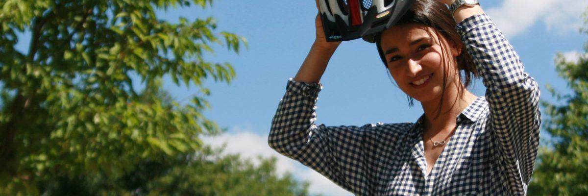 Grundsätzlich Helm auf - das gilt bei normalen Rädern ebenso wie bei Pedelecs. © ACE /TRDmobil