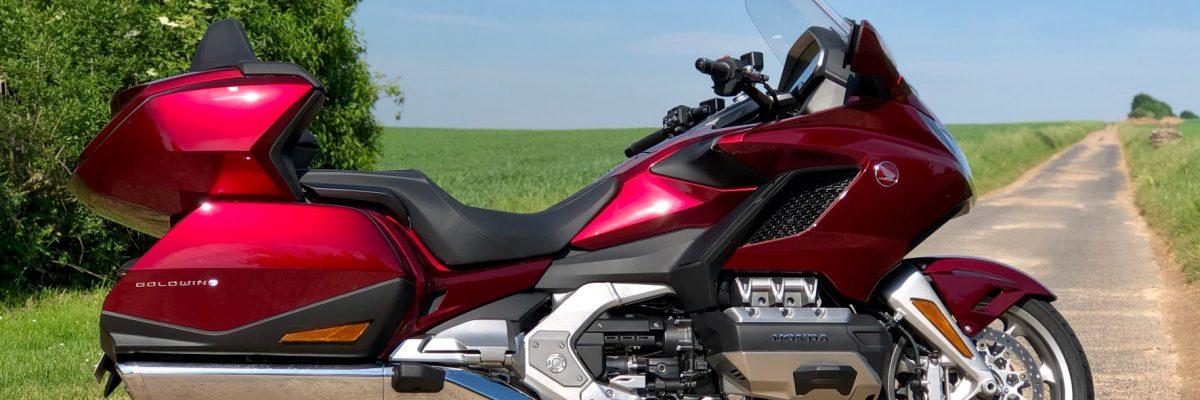 Motorrad Seitenansicht