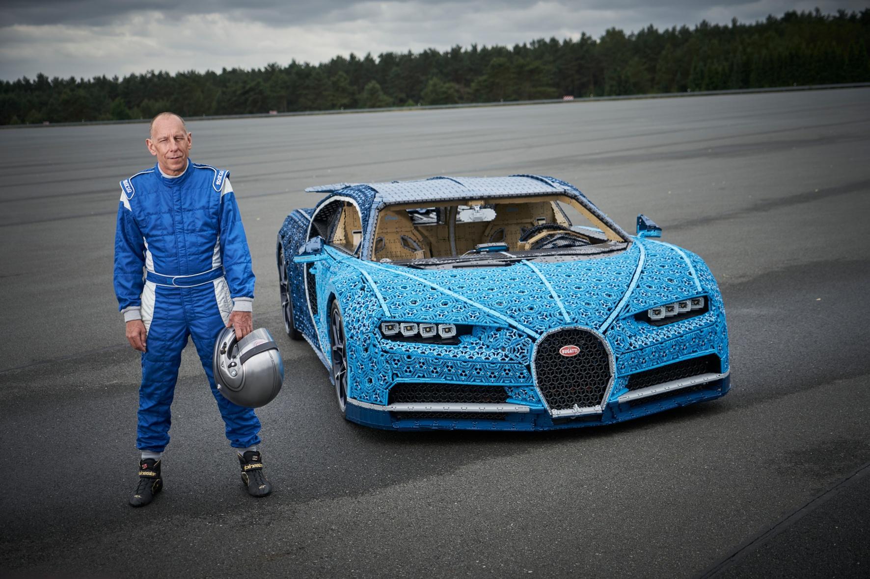Das Bugatti Modell des dänischen Spielzeugherstellers. © The LEGO Group/ TRD lifestyle