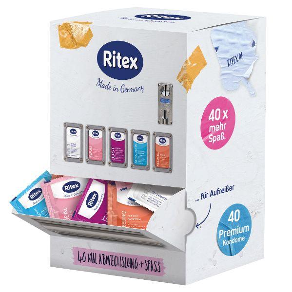 Der letzte Schrei: Ein Bielefelder Hersteller bringt den Kondomautomat für zuhause auf den Markt. © Ritex GmbH/TRD Lifestyle