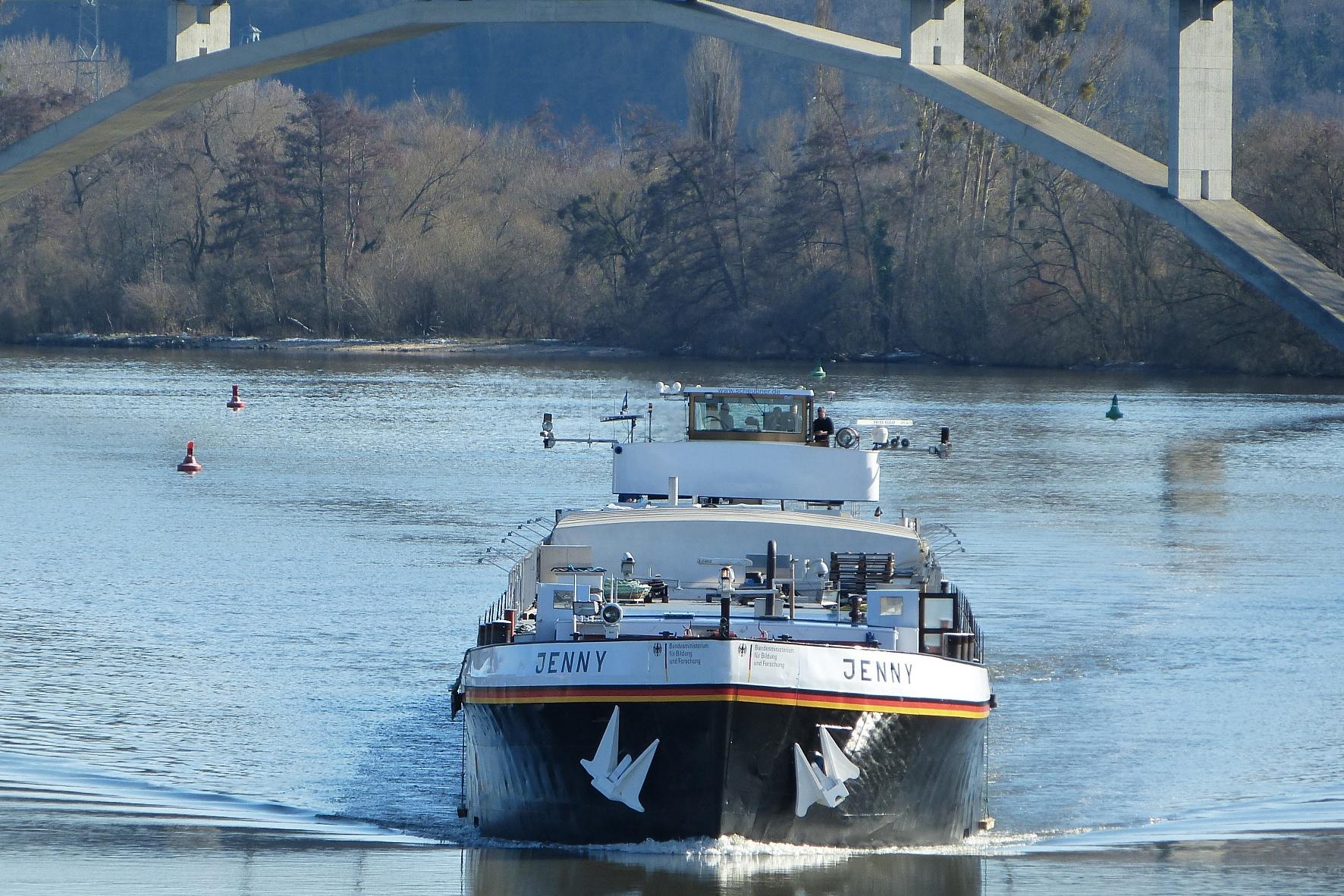 Schiff auf dem Rhein (TRD)