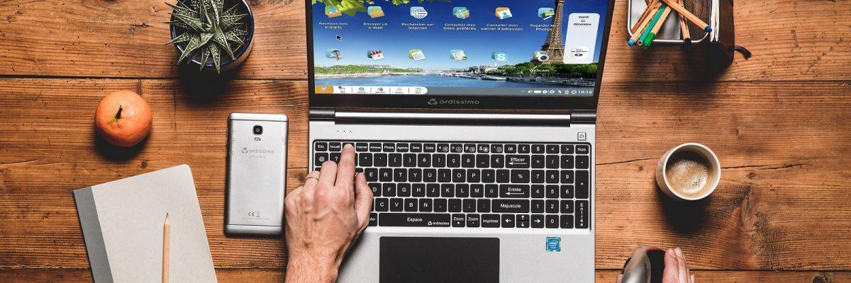 Technik und Medienkompetenz helfen, Teilhabe und Selbstbestimmung auch im Alter aufrechtzuerhalten. Foto: Ordissimo / TRD digital und technik