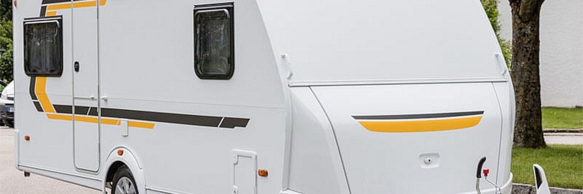 Caravan mit Fenster