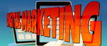Marketing Logo Schriftzug