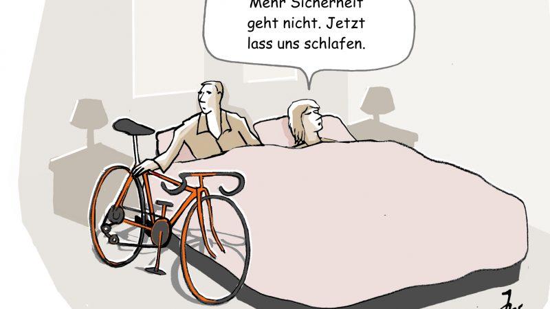 Schadenshöhe bei Fahrraddiebstahl
