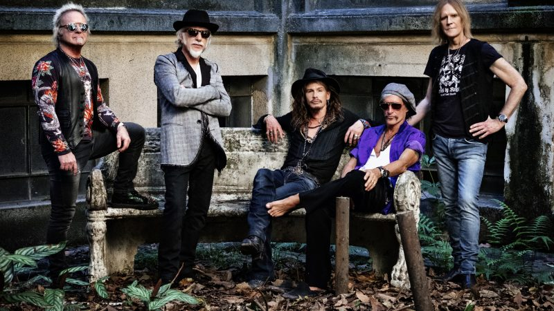 Foto: Aerosmith/ Credit Zack Whitford / TRD Entertainment