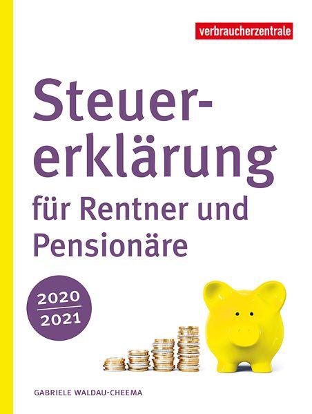Der neue Ratgeber macht Rentner zu Steuerexperten in eigener Sache. © Verbraucherzentrale NRW / TRD Wirtschaft und Soziales